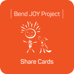 Bend JOY Project Share Cards - Download a Template to Make Your Own