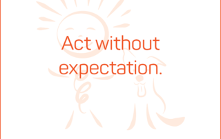 Act without expectation. #BendJOYProject
