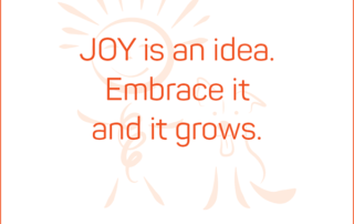JOY is an idea. Embrace it and it grows. #BendJOYProject