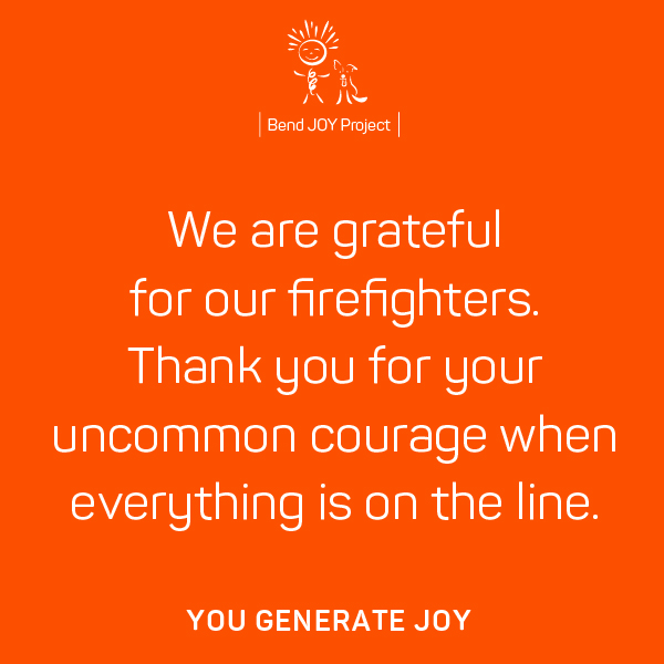 Thank You Poster for Firefighters – Poster #2