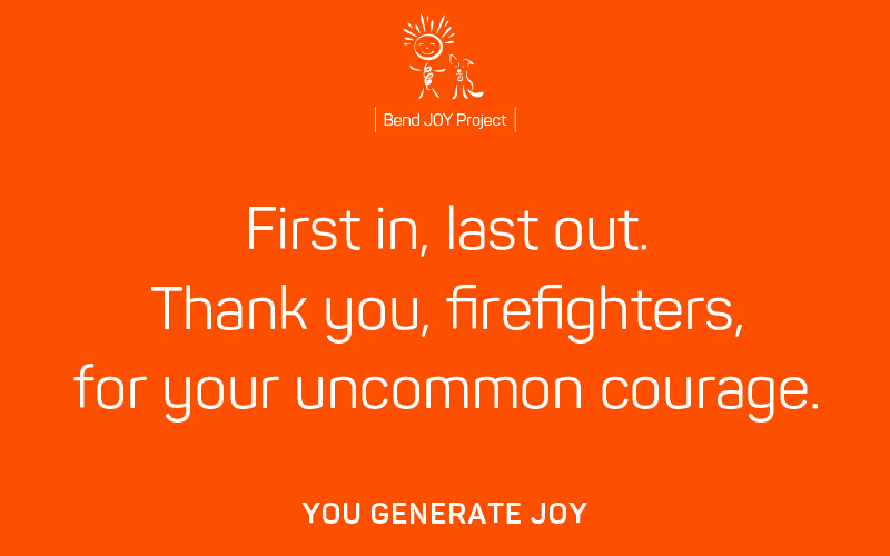 Thank You to Everyday Heroes